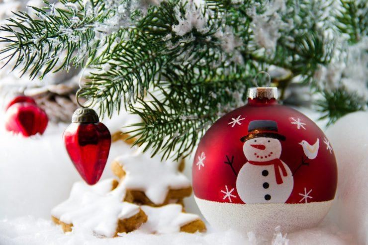 Za božič že deset let nismo imeli snega! Vir: Pixabay