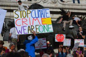 Pariški podnebni protesti. Vir: Pixabay