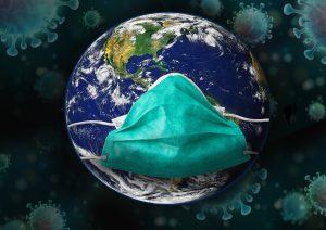 Maska ščiti ljudi, a tudi onesnažuje planet. Vir: Pixabay