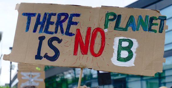 Sporočilo mladih: Nimamo planeta B, sporočamo mladi. Vir: Pixabay