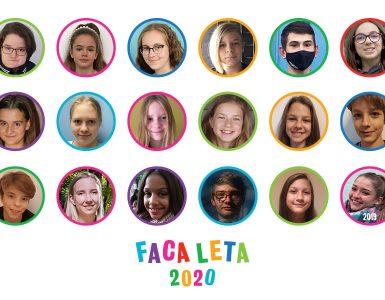 Face leta 2020. Oblikovanje: Nina Semolič