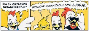 Poznaš nevladne organizacije? Vir: Mirovni inštitut