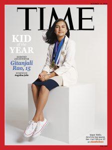 Gitanjali Rao, otrok leta 2020. Vir: Time