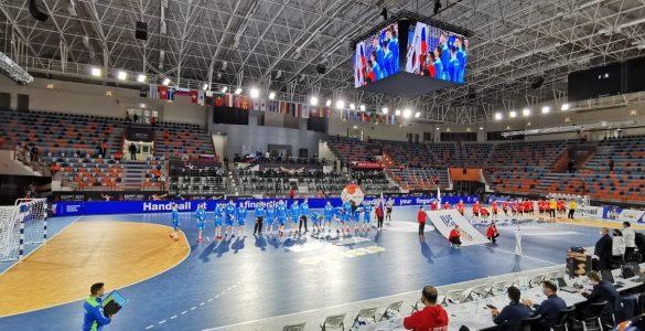 Slovenska reprezentanca na svetovnem prvenstvu. Foto: Danilo Kesić/Rokometna zveza Slovenije