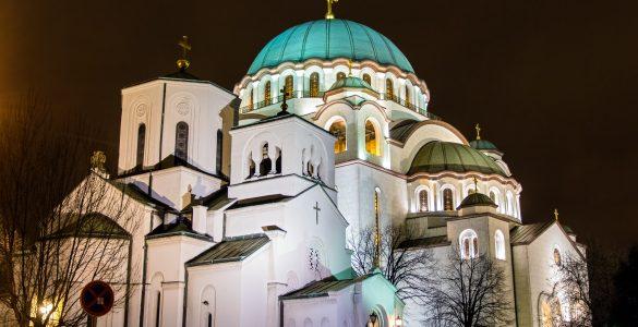 Hram Sv. Save v Beogradu. Vir: Adobe Stock