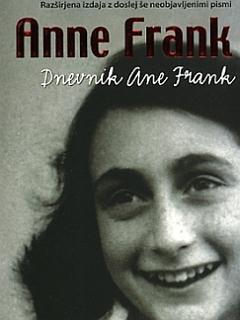 Naslovnica knjige Dnevnik Ane Frank, ki je izšla pri Mladinski knjigi. Vir: Emka