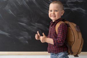 Otrok v šoli. Vir: Adobe Stock