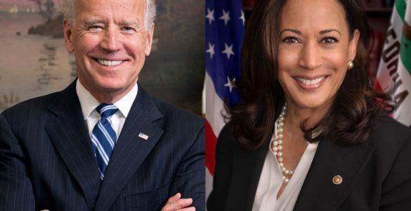 Ameriški predsednik Joe Biden in podpredsednica Kamala Harris. Vir: Wikimedia Commons
