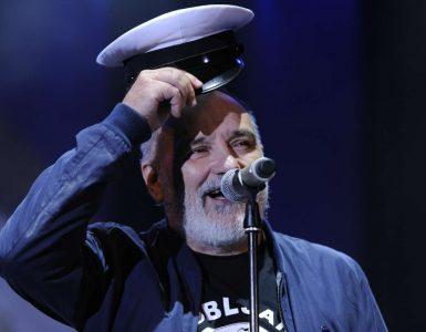 Đorđe Balašević na koncertu Panonski mornar v Križankah. Foto: Nebojša Tejić/STA