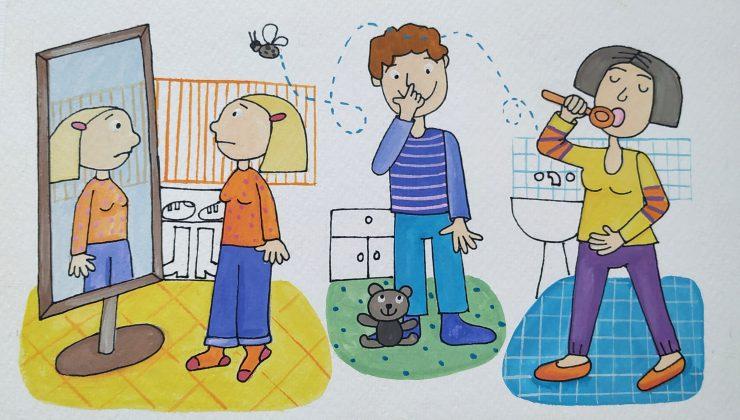 Knjiga Tožibaba. Ilustracija:Ilustracija: Urška Stropnik Šonc Urška Stropnik Šonc