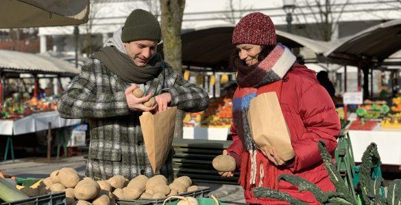 Nika in Nik in Počitniški krompir. Vir: Arhiv RTV SLO