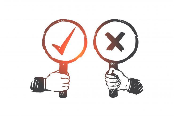 Če ne verjamemo strokovnjakom, ne smemo verjeti niti tistim drugim, ki govorijo brez dokazov. Vir: Freepik