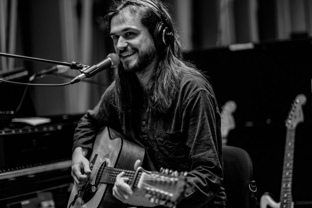Kitarist Luka Flegar. Avtor: Alan Orlič