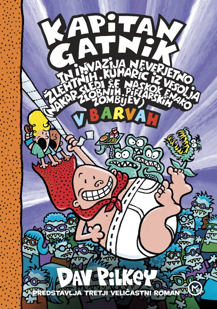 Največji izziv pri prevajanju knjige so bile premetanke, ki jih Grega in Klemen ustvarjata na šolskih oglasnih deskah. Vir: Mladinska knjiga