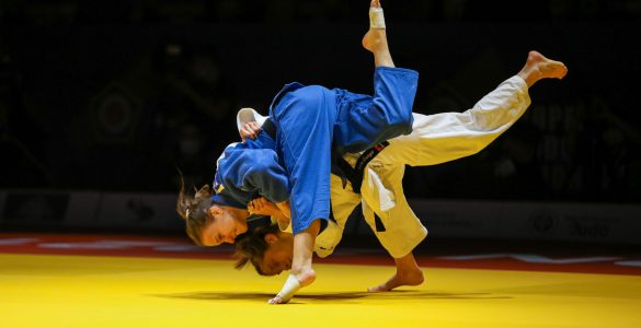 Slovenske judoistke navdušile na evropskem prvenstvu v Lizboni. Vir: Judo zveza Slovenije
