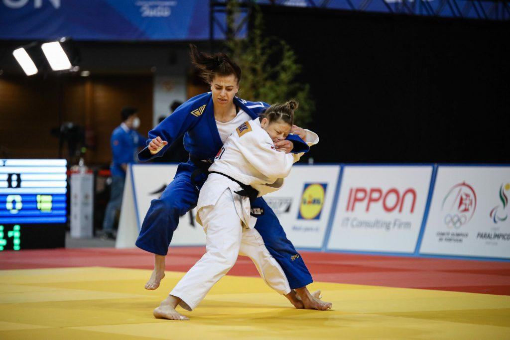 Tina Trstenjak je prva Slovenka, ki je osvojila tri naslove evropske prvakinje. Vir: Judo zveza Slovenije