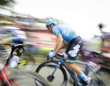 15. etapa kolesarske dirke po Italiji od Gradeža do Gorice je deloma potekala po slovenskih cestah. Foto: Anže Malovrh/STA