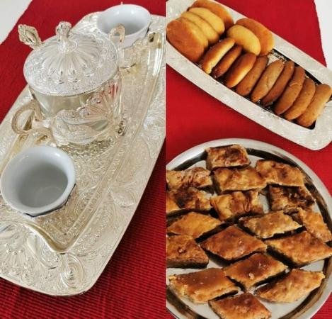 Kava, fildžan, baklave, hurmašice
