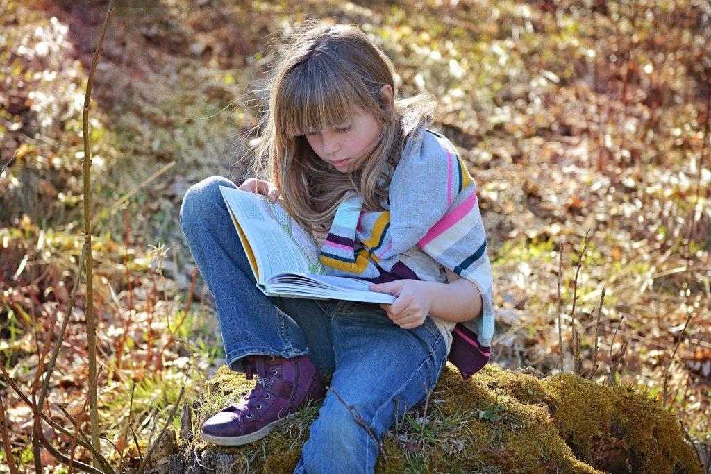Za ljubezen do knjig je vedno čas. Vir: Pixabay