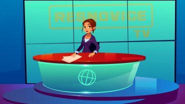 Napovedovalka na Resnovice TV. Animacija: Anže Sobočan