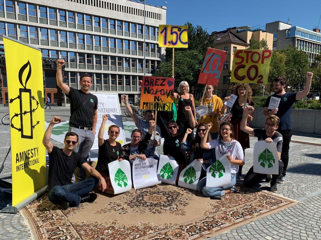 Društvo Amnesty International Slovenije deluje že 33 let in šteje več kot 11. tisoč članov. Vir: Amnesty International Slovenije