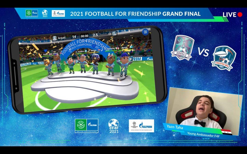 V finalu je zmagala ekipa Argali. Vir: F4F