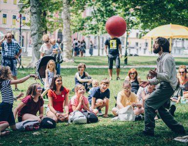 14. Mednarodni festival sodobnega cirkusa Klovnbuf letos v znamenju iskanja ravnovesja. Vir: Zavod Buffeto