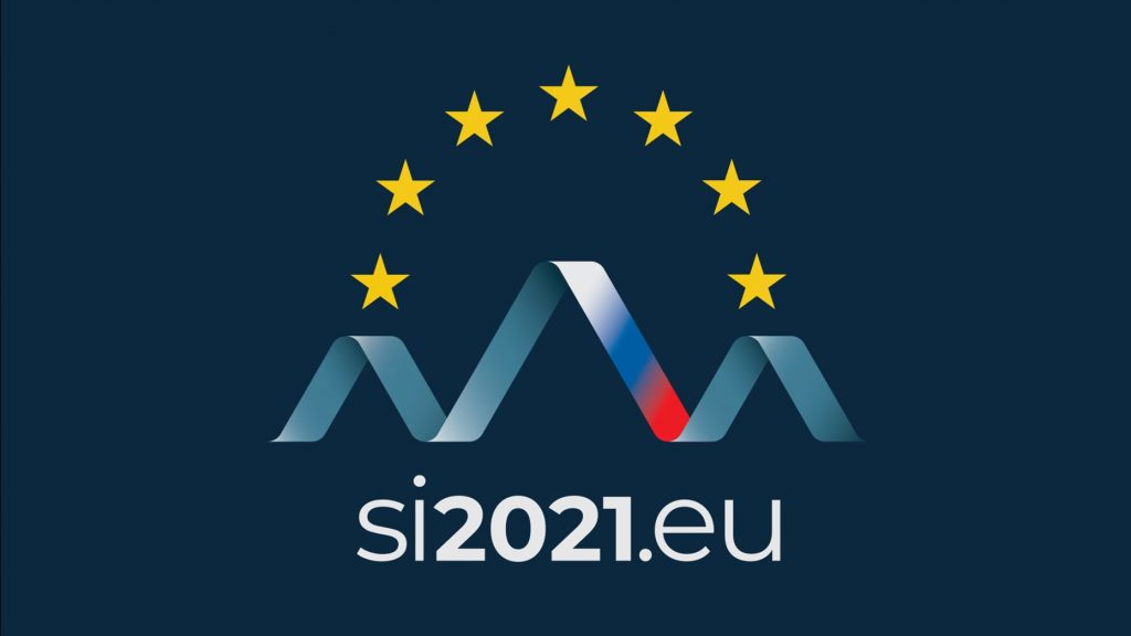 Logotip predsedovanja. Vir: Vlada RS