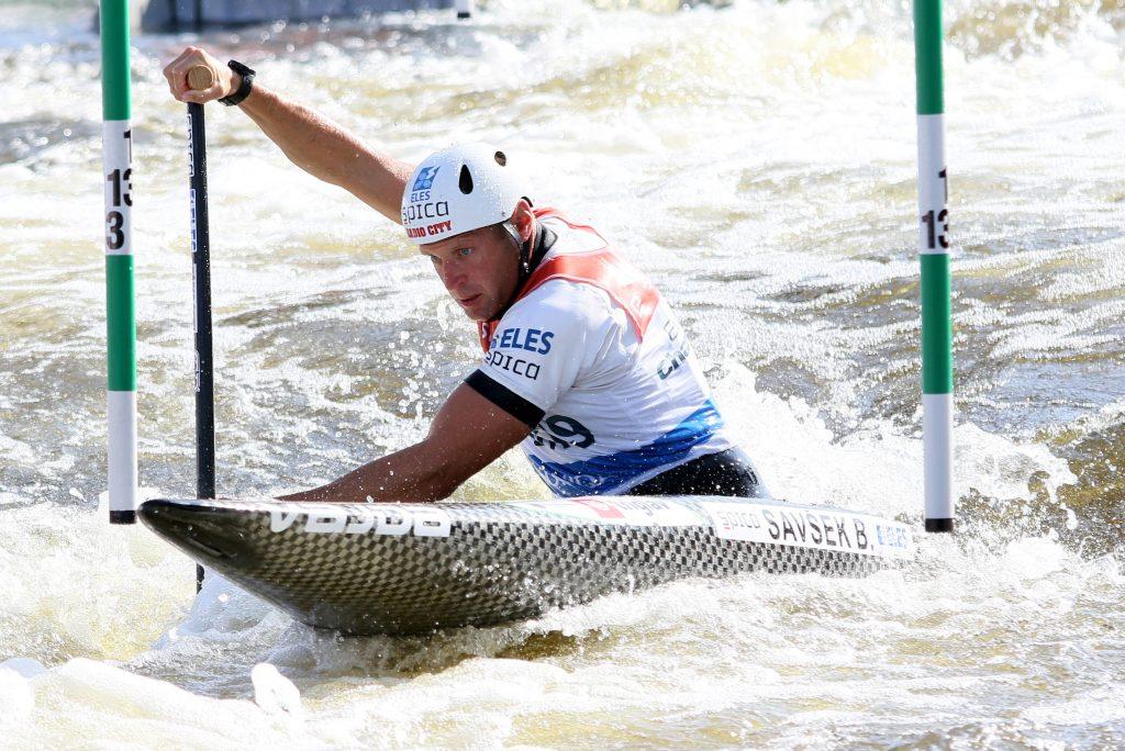 Benjamin Savšek je postal evropski prvak tudi leta 2000 v Pragi. Foto: Nina Jelenc/KZS