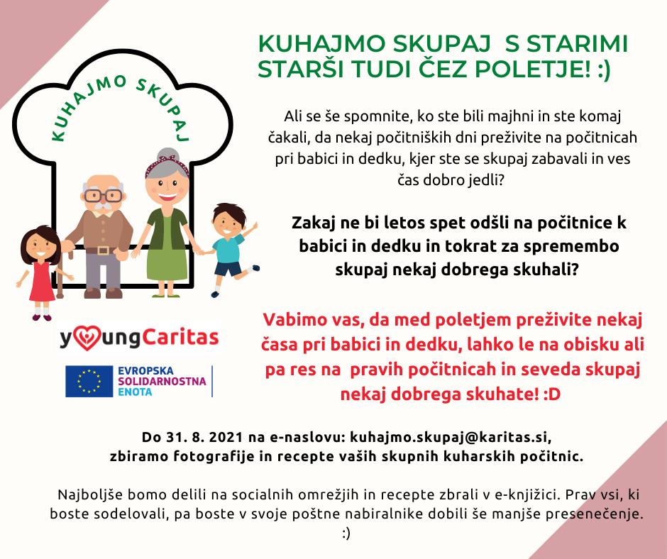 Vabilo k sodelovanju. Vir: arhiv Slovenske karitas