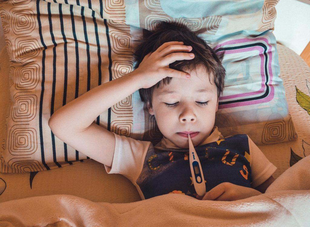 Otroci navadno prebolijo okužbo z RSV brez zapletov. Vir: Pixabay