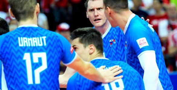 Slovenski odbojkarji so tudi na evropskem prvenstvu 2021 osvojili srebrno kolajno. Vir: Odbojkarska zveza Slovenije