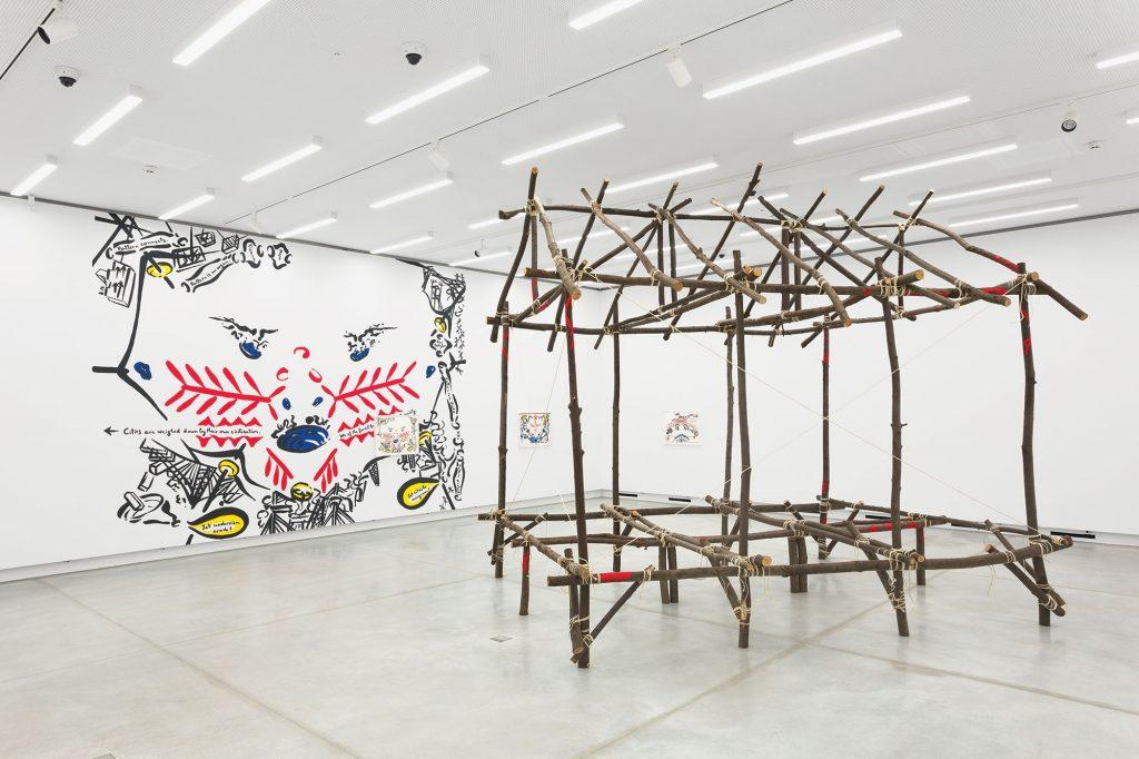 Prva razstava v muzeju sodobne umetnosti se imenuje Čudovitost spomina. Vir: cukrarna.art