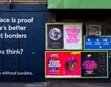 Letos v projektu obravnavajo težavo prekomernega oglaševanja v mestih. Vir: Unsplash