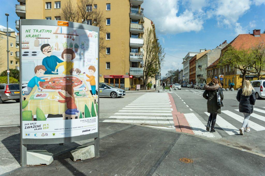 Ilustracija zgodbe, prispele na natečaj. Vir: Lidl Slovenija
