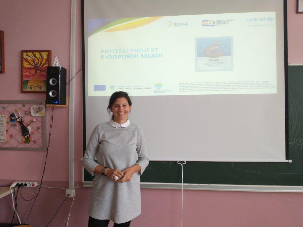 Seminar smo obogatili s konkretnimi primeri in interaktivnimi vajami, ki jih je mogoče že naslednji dan prenesti v razred ali v individualno delo. Vir: Unicef Slovenija